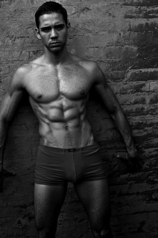 Mystery Muscle Hunk - In Underwear (7)