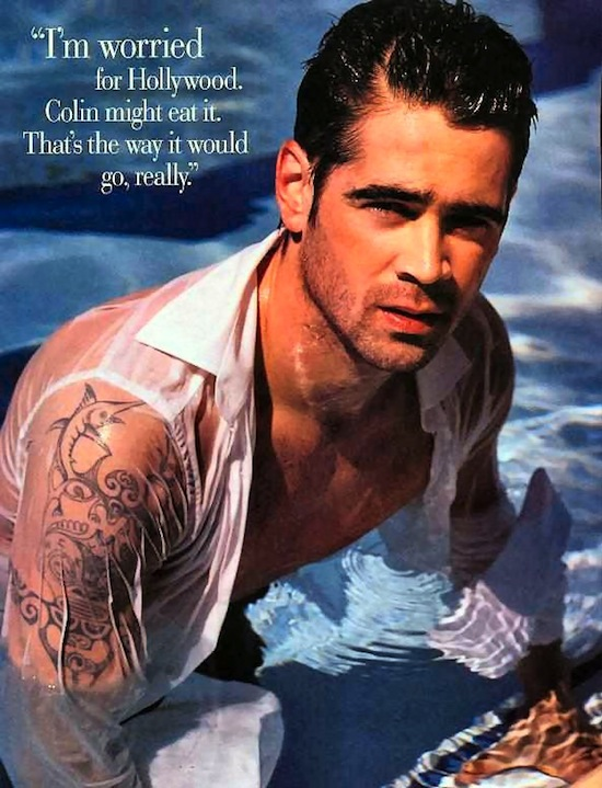 Gorgeous Stud Muffin Colin Farrell (4)