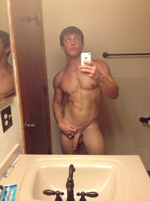 Guys Flashing Or Caught Naked (2)
