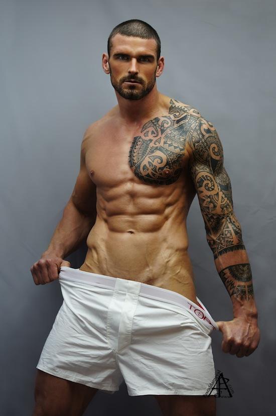 Ripped Rugby Hunk - Stuart Reardon Naked (5)