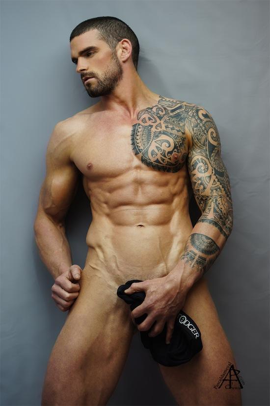 Ripped Rugby Hunk - Stuart Reardon Naked (6)