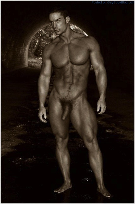 Nude Male Art Models With Erections-8245
