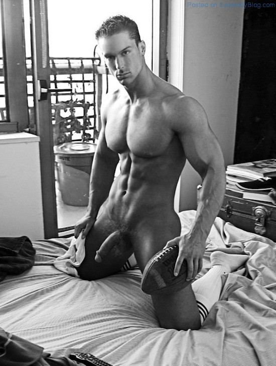 Black boy model nude make