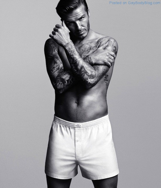 Pics of hunk David Beckham in underwear for H&M (4)