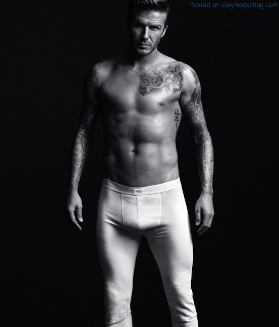 Pics of hunk David Beckham in underwear for H&M (6)
