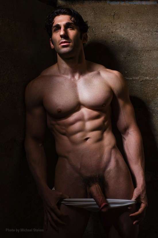 Hot men model nude