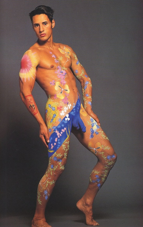 Body painting nude free