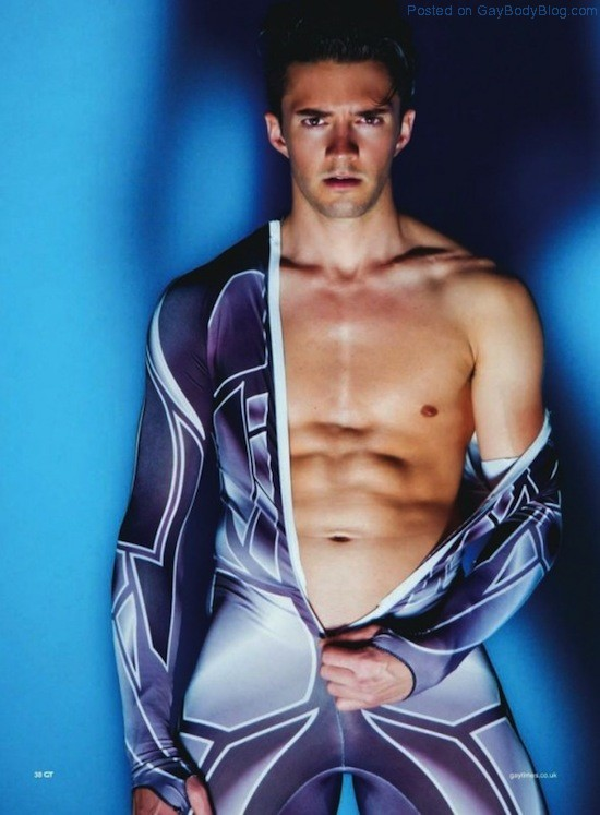Sexy Olympic Skater Blake Skjellerup And The Sochi Olympics (1)