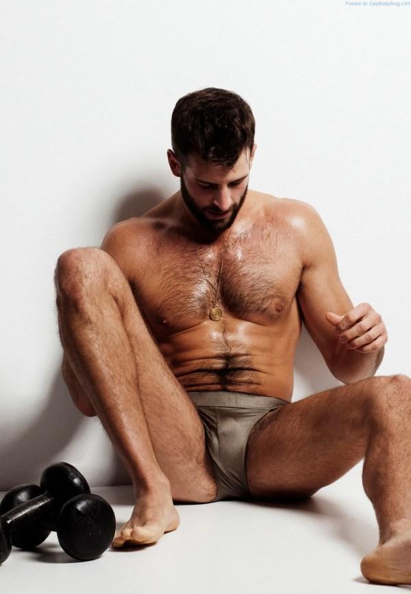 Sweaty, Hairy And Masculine - David Picard (4)
