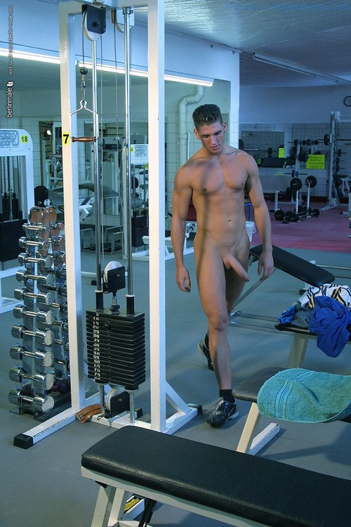 Nude male exercise — 4