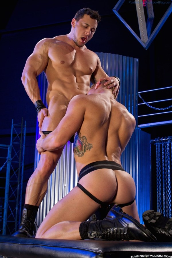 Muscle Buddies Johnny V And Joey D Fuck 1