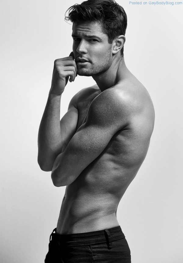 Handsome And Hunky Model Anthony Selemidis Has A Range Of Emotions (2)