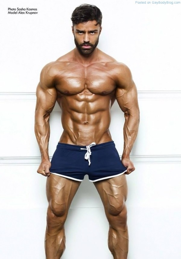 Alex Krupnov Is One For All The Real Muscle Lovers 8