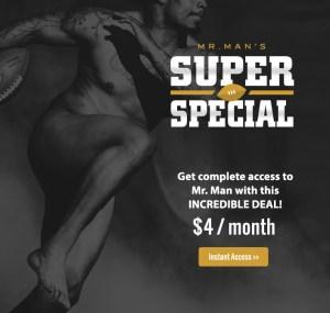 Mr. Man SuperBowl