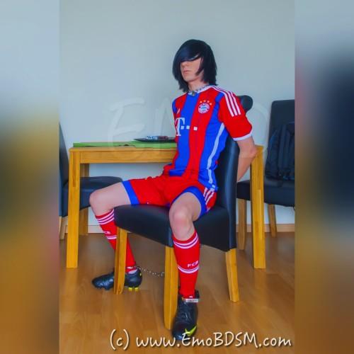 Emo in FCB Soccer Gear