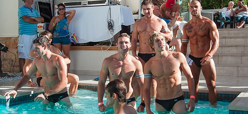 Cape Town Pride Pool Party