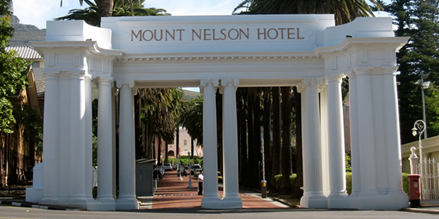 Tea at the Mount Nelson Hotel