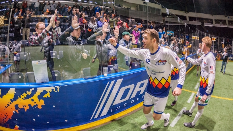 Soccer game: tacoma stars host san diego sockers