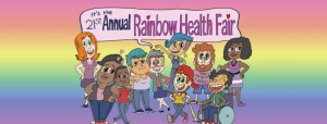 Rainbow Health Fair Header