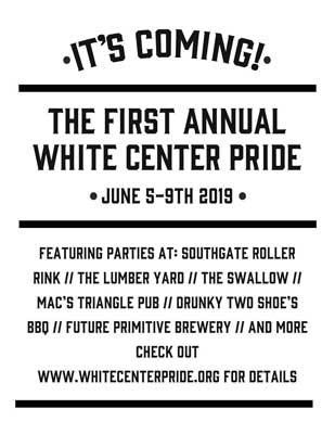 white center pride flyer