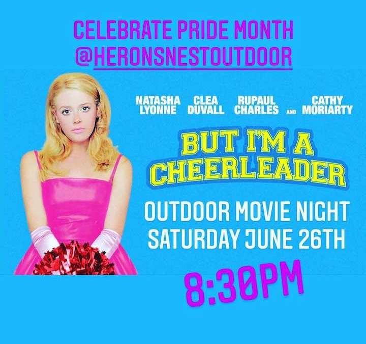 Pride Celebration Outdoor Movie Night