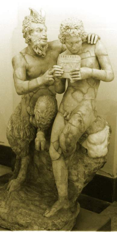 The gay myth of Pan and Daphnis