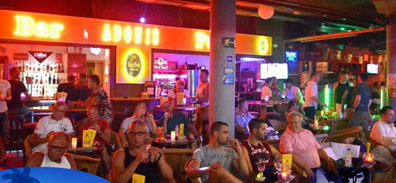 ADONIS gay Bar Gran Canaria