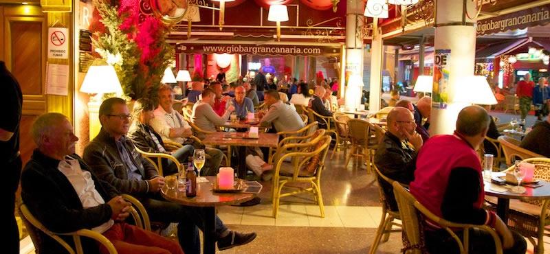 Gio gay restaurant Gran Canaria