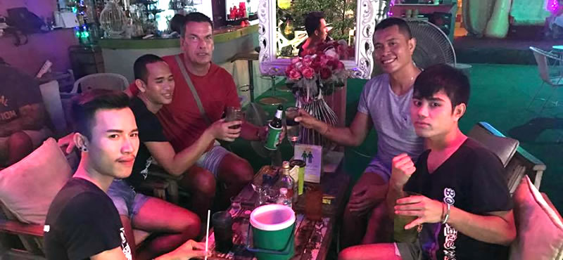 K CLUB Gay host bar Koh Samui