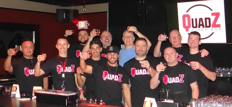 QuadZ gay bar Las Vegas