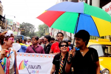 Gay pride march in India