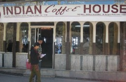 Indian coffee house in Delhi