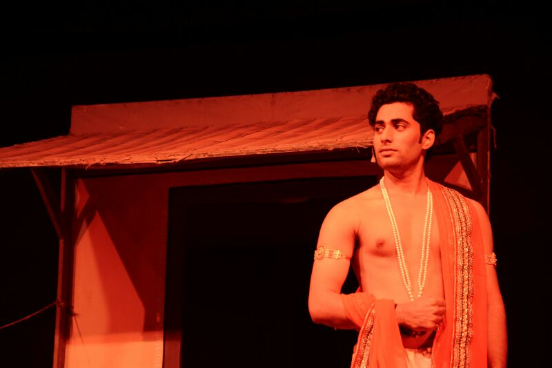 Hindi Play dushyantapriya