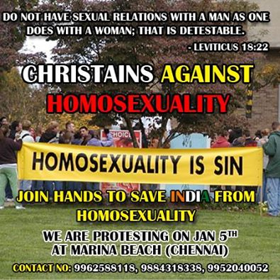 Christian Groups Plan Rally Against Homosexuality In ...