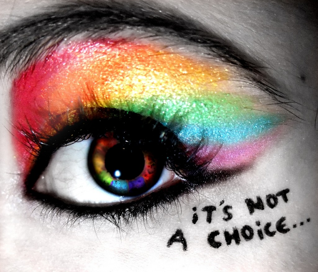 homosexuality not choice