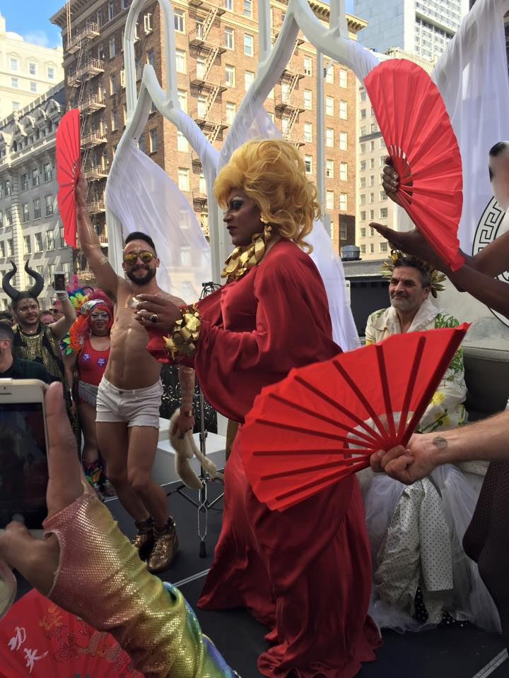Pride celebrations at San Fransisco (Pic by Alan Meraz)
