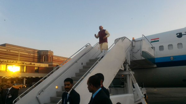 Modi Lands in Pakistan