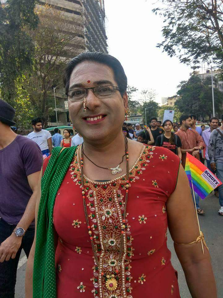 Beautiful outfits and colours galore at Mumbai Pride 2017