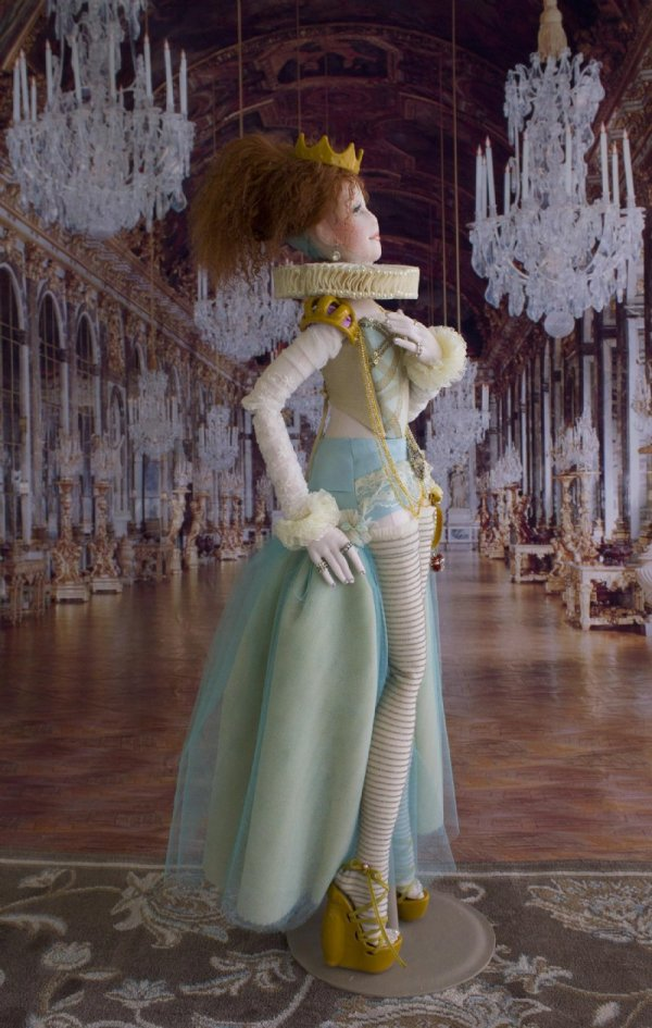 Lady Jane Ooak Tudor-inspired Art Doll
