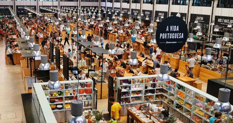 Mercado Ribeira Lisbon