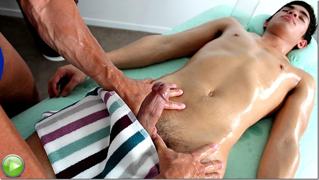 Gay masseur hitting on his customer 2
