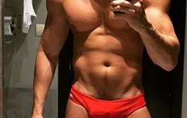 Selfies - Red Speedos