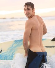 Cute Aussie Surfer