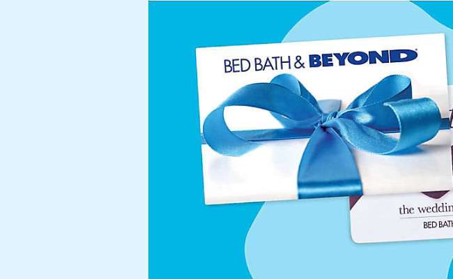 20 Bed Bath Beyond Gift Card Seasonal Giveaway