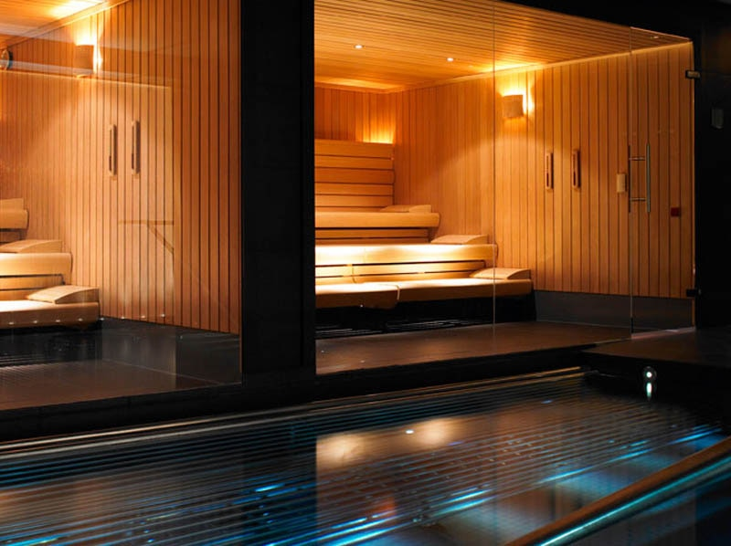 The spa pool at The Gleneagles Hotel in Scotland  GAYOTs