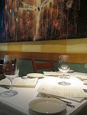 Dining Room at Bay Wolf, Oakland, CA