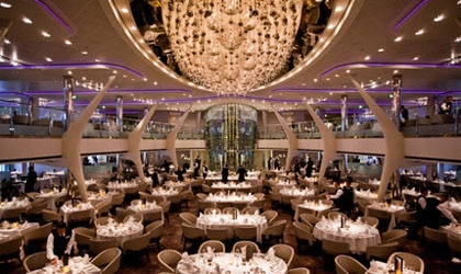 The Main Restaurant on Celebrity Cruises