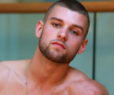 Handsome gay porn star Rufus Fitzroy