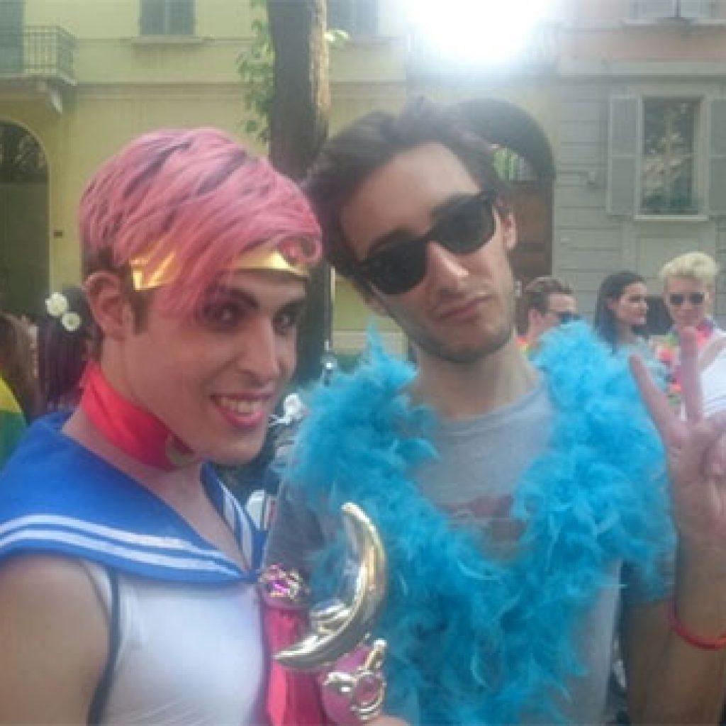 In 13000 al primo Pride di Reggio Emilia le foto pi belle