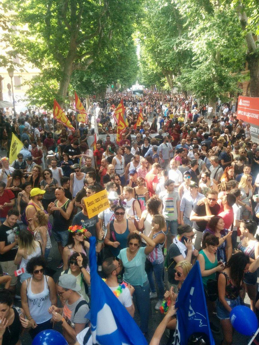 Roma Pride e FVG Pride 2017 le foto dalle piazze